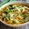 Vegan spicy noodle soup nepali thukpa 3